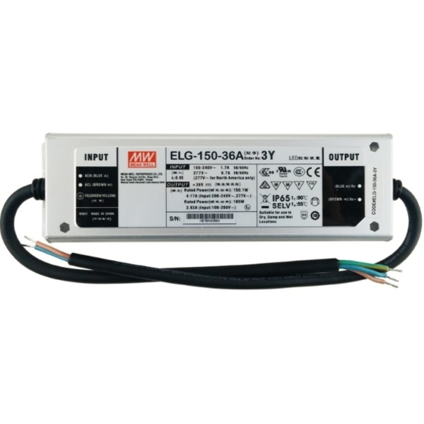 ELG-150-36Y/MW 150W LED驅動