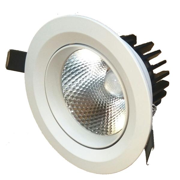 10W COB崁燈/可擺動/挖孔70mm