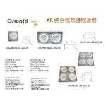 AR 12W*4(無邊框4盒燈)