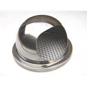 小飛碟UFO.小而美(ST[防蟲網式排風罩].魚眼罩.外氣口.圓球型) 排油煙罩、排煙罩、外氣口、衛浴室內出口罩、空調進出風口、通氣口、排風口、排氣罩、通風口裝置等。-泓富實業有限公司-新北