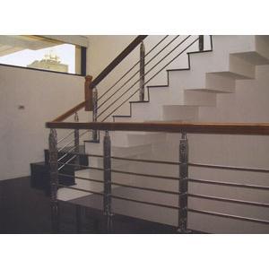 不鏽鋼扶手玻璃系列-雅固婷金屬建材有限公司-新北
