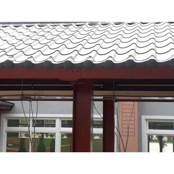 琉璃鋼瓦-中壢內定國小 風雨教室3