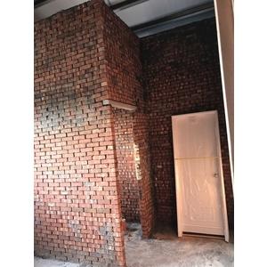 鐵皮屋磚牆隔間泥做2