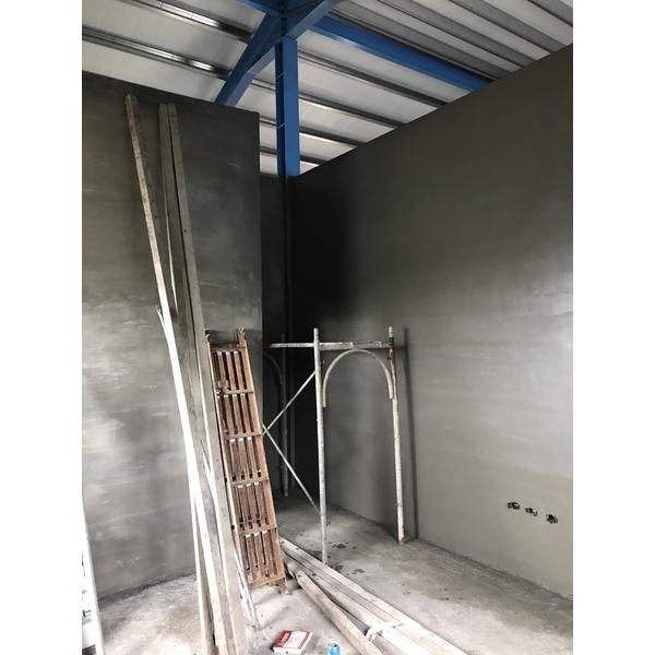 鐵皮屋磚牆隔間泥做3-億達工程行-台南