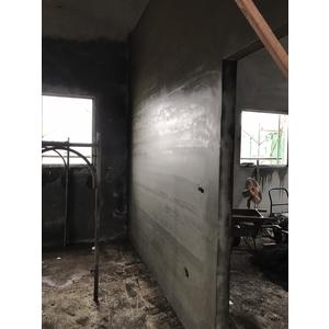 鐵皮屋磚牆隔間泥做4