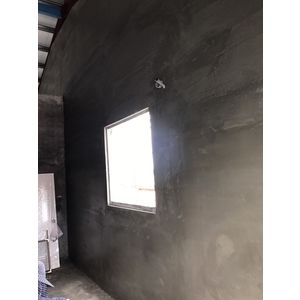 鐵皮屋磚牆隔間泥做7