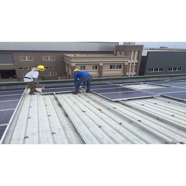 太陽能光電(中華電信+防颱鋼板)-高勤彩色鋼板-彰化