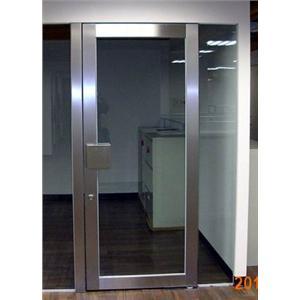 不銹鋼單開玻璃門-利昇金屬有限公司/建富金屬-桃園