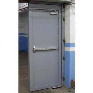 鍍鋅烤漆彈射門-利昇金屬有限公司/建富金屬-桃園